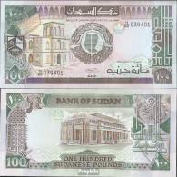 Sudan Pick-Nr: 44b Bankfrisch 1989 100 Pounds - Soudan
