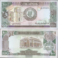 Sudan Pick-number: 44b Uncirculated 1989 100 Pounds - Soudan