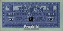 Deutsches Reich Rosenbg: 501a Bankfrisch 1942 1 Reichspfennig Wehrmacht - 1933-1945: Drittes Reich