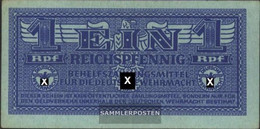 German Empire Rosenbg: 501a Uncirculated 1942 1 Reich Pfennig Army - 1933-1945: Drittes Reich