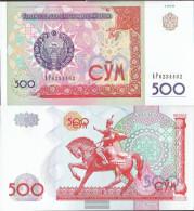 Uzbekistan Pick-number: 81 Uncirculated 1999 500 Sum - Uzbekistan
