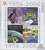 Bosnia - Croatian. Post Mostar Block7 (complete Issue) Unmounted Mint / Never Hinged 2006 50 Years Europe Trade - Bosnia And Herzegovina