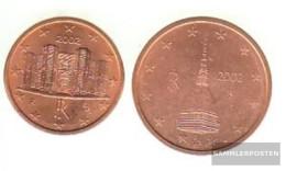 Italy I1 - 2 2002 Stgl./unzirkuliert Stgl./unzirkuliert 2002 Kursmünze 1 And 2 Cent - Italy