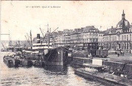 76 -  ROUEN - Quai De La Bourse - Rouen