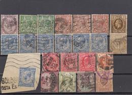 11574-LOTTICINO DI N°. 86 FRANCOBOLLI PERFIN - USATI - GRAN BRETAGNA - Perfins