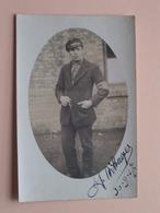 BALLINGSCHAP Gedenkenis 30-9-1917 Jan Withages Borgerhout > A. Decadt ( Foto Dissen Teutoburgerwald ) ! - Guerre, Militaire