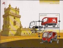 2013  Portugal   Mi. Bl 345 Used    Postfahrzeuge - Europa-CEPT