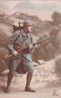 Guerre -- La Classe 1917 Les Aura - Guerre 1914-18
