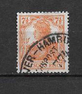 LOTE 1620  /// ALEMANIA IMPERIO YVERT Nº: 98  CON FECHADOR DE HAMBURG - Alemania
