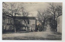 32 - TILLAC - Place Du Centre - Correspondance Et Cachet Perlé De Tillac - Peu Courante - - Autres Communes