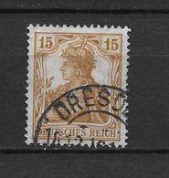 LOTE 1620  /// ALEMANIA IMPERIO YVERT Nº: 99  CON FECHADOR DE DRESDE - Alemania