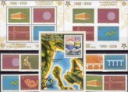 Segel-EM 1986 Jugoslawien/Serbien Bl.28,3257/4,Blocks 59A+B ** 34€ Stamps On Stamp Ss Bloc Sheets Bf 50 Jahre CEPT - Neufs