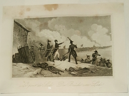 Lot De 11 Cartes Lithographique Sur Les  Batailles De Napoléon +/- 1840 - Cartes Porcelaine