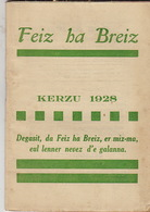 Feiz Ha Breiz. Kerzu 1928. N° 12. - Livres, BD, Revues