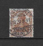 LOTE 1620  /// ALEMANIA IMPERIO YVERT Nº: 102   CON FECHADOR DE MAIN - Alemania