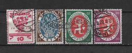 LOTE 1620  /// ALEMANIA IMPERIO YVERT Nº: 106/109 - Alemania