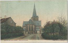 Heyst-op-den-Berg. -    Zicht Op De Kerk.    -    Prachtige Gekleurde Kaart  1905  Naar   Gand - Heist-op-den-Berg