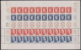 = Feuillet De 10 Bandes N°833A Cérès Et Gandon Centenaire Du Timbre 1849-1949 Taille Douce 830. 831. 832. 833 Neuf Gommé - Blocs & Feuillets