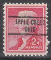 USA Precancel Vorausentwertung Preo, Locals Ohio, Apple Creek 734 - Vereinigte Staaten