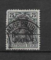 LOTE 1620  /// ALEMANIA IMPERIO YVERT Nº: 103 CON FECHADOR DE ANGERBURG - Alemania