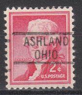 USA Precancel Vorausentwertung Preo, Locals Ohio, Ashland 819 - United States