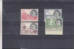 Roi Baudouin - Ruanda Urundi - COB 196 / 99 ** - MNH - Arbres - Valeur 25 Euros - 1948-61: Neufs