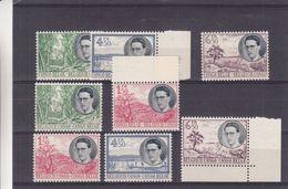 Roi Baudouin - Congo Belge - COB 329 / 36 ** - MNH - Arbres - Valeur 90 Euros - 1947-60: Neufs