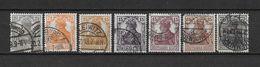 LOTE 1620  /// ALEMANIA IMPERIO YVERT Nº: 97/103   CATALOG/COTE:  8,50€ - Alemania