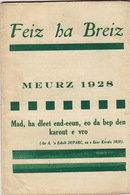 Feiz Ha Breiz. Meurz 1928. N° 3. - Livres, BD, Revues