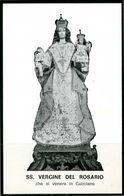 SANTINO - SS. Vergine Del Rosario - Santino Con Preghiera - Andachtsbilder