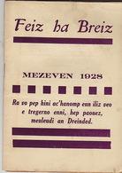 Feiz Ha Breiz. Mezeven 1928. N° 6. - Livres, BD, Revues