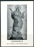 SANTINO - L'Assunta - Santino Con Preghiera - Santini