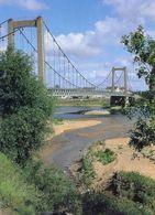 Varades - Pont Suspendu  Sur La Loire (1965) - 2 Cartes - Varades
