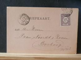 74/562  BRIEFKAART NED. 1896 - 1891-1948 (Wilhelmine)