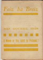 Feiz Ha Breiz. Miz Gouere 1928. N° 7. - Livres, BD, Revues