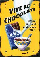 CPM - D  - ILLUSTRATEUR BEATRICE DOUILLET - VIVE LE CHOCOLAT - CHAUD OU FROID MAIS AVEC TOI ! - Contemporain (à Partir De 1950)