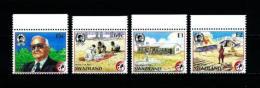 Swaziland  Nº Yvert  549/52  En Nuevo - Swaziland (1968-...)