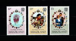 Swaziland  Nº Yvert  372/4  En Nuevo - Swaziland (1968-...)