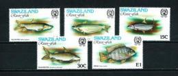 Swaziland  Nº Yvert  355/9  En Nuevo - Swaziland (1968-...)