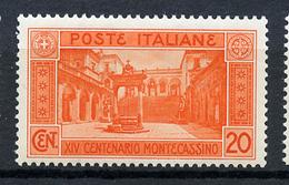 1929 -  Italia - REGNO - Unif. . N.  262 - NH -  (B0111082015a - 7..) - 1900-44 Victor Emmanuel III