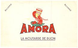 M A/Buvard Moutarde Amora (Format 21 X 13.5)  (N= 6b) - Mostard
