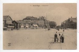 - CPA BERCK-PLAGE (62) - L'Entonnoir (avec Personnages) - Editions P.H. & Cie N° 7 - - Berck