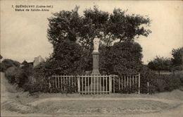 44 - GUENOUVRY - Statue Sainte Anne - France