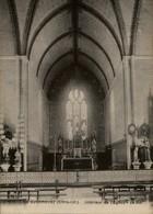 44 - GUENROUET - Intérieur église - église Détruite En 1945 - Guenrouet