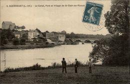 44 - GUENROUET - Canal - Village De Saint Clair - Guenrouet