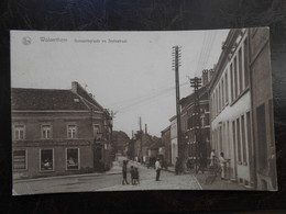 Wolverthem Gemeenteplaats En Statiestraat - België