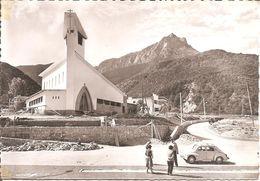 SAVINES LE LAC (05) La Nouvelle Eglise , La Forêt Et  Le Grand Morgon (Voiture 4 Cv Renault)  CPSM  GF - Altri Comuni