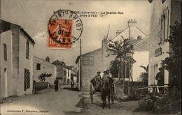 44 - INDRE - Haute-Indre - Attelage Cheval - France