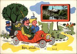 44 - ISSE - Carte Avec Petite Vue - Illustrée Par Jean De Preissac - Tacot - France