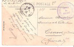 Charente Maritime :- LA ROCHELLE UNION DES FEMMES DE FRANCE FOYER DU SOLDAT - Oorlog 1914-18
